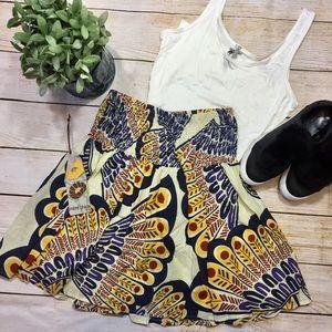 [Mimi Chica] Printed Skirt-new